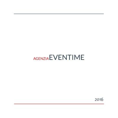eventime - brochure 2016
